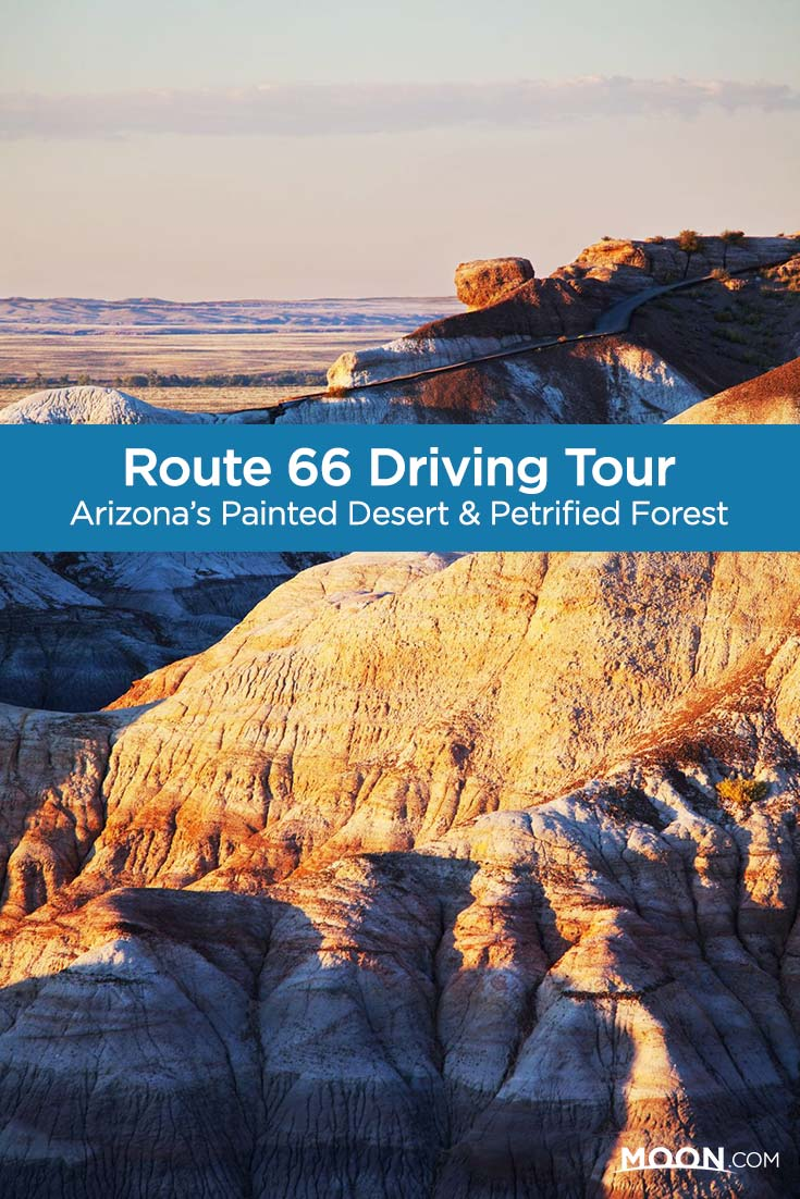 route 66 arizona pinterest graphic