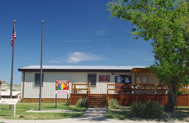 White River Visitors Center in Badlands National Park.