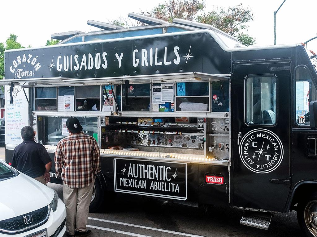 black food truck
