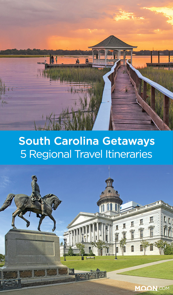 Honeymooning? Traveling with kids? Craving the beach? Whatever you're after, these 5 itineraries cover the best places in South Carolina to visit.