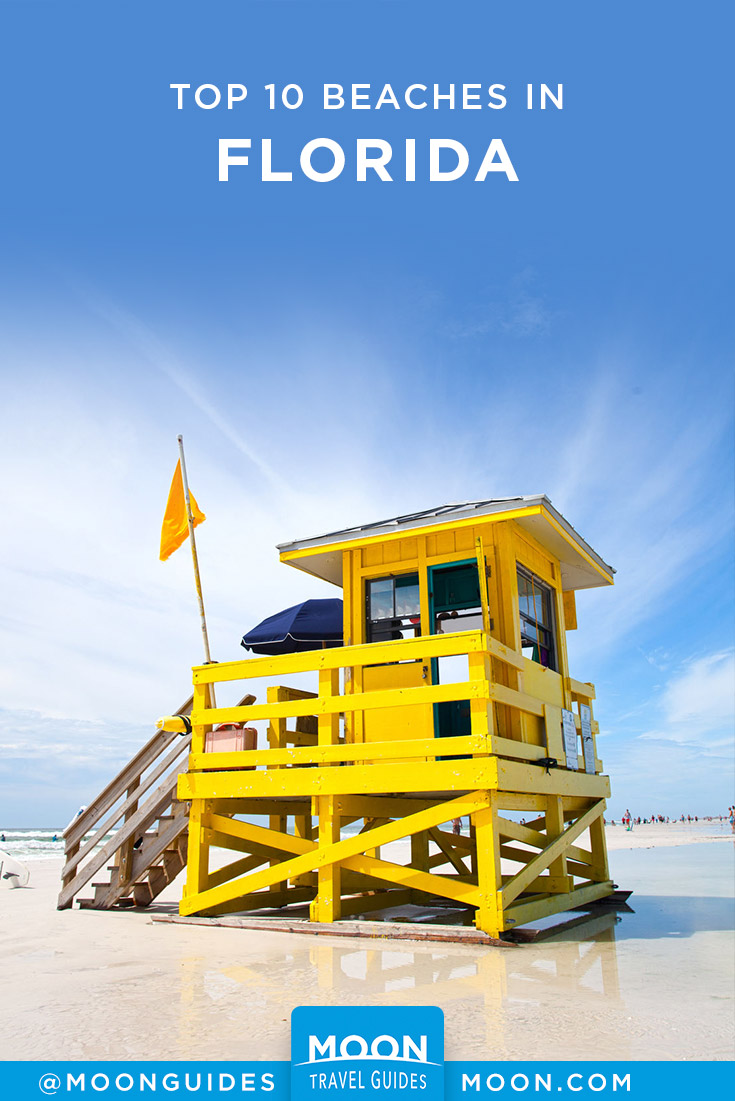 Top Beaches in Florida Pinterest graphic