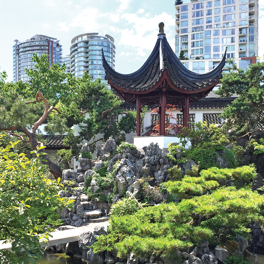 Ming dynasty garden in Vancouver