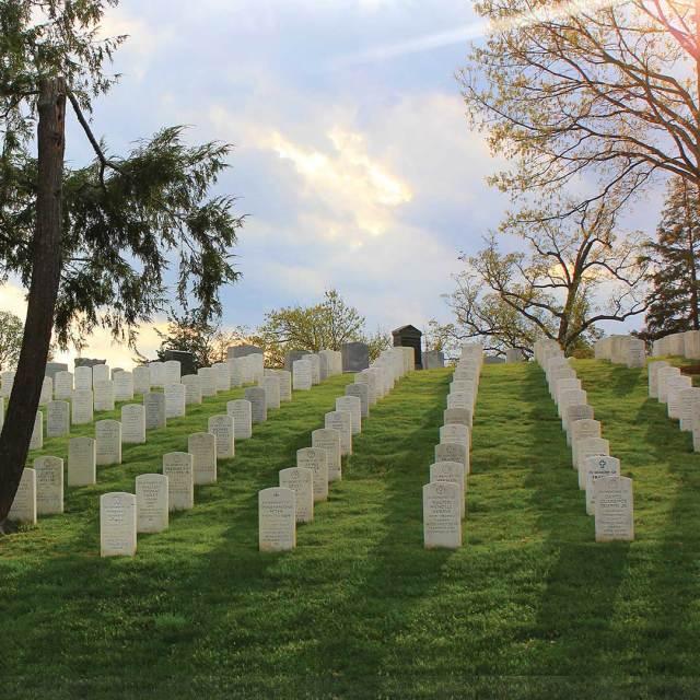 The Arlington National Cemetery