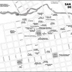 Map of San Antonio de Areco, Argentina