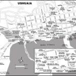 Map of Ushuaia, Argentina
