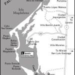 Map of Bahia Magdalena