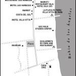 Map of Bahia de los Angeles, Mexico