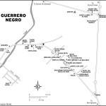 Map of Guerrero Negro, Mexico