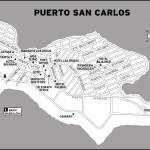 Map of Puerto San Carlos, Mexico