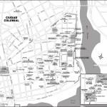 Map of Ciudad Colonial, Dominican Republic