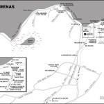 Map of Las Terrenas, Dominican Republic