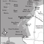 Map of Monte Cristi, Dominican Republic