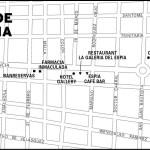 Map of The San Juan de la Maguana, Dominican Republic