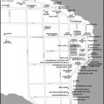 Map of Bocas Town, Panama