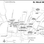 Map of El Valle de Antón, Panama