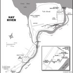 Map of Hay River, NT