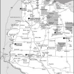 Map of Northwestern Wisconsin, Wisconsin