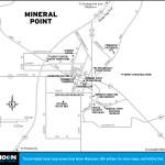 Map of Mineral Point, Wisconsin