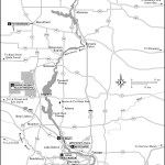 Map of Central Wisconsin Sands
