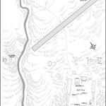 Map of Bonampak Archaeological Zone Mexico