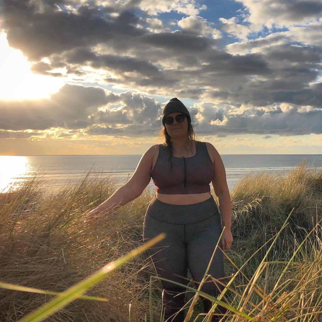 Photo of Jenny Bruso hiking