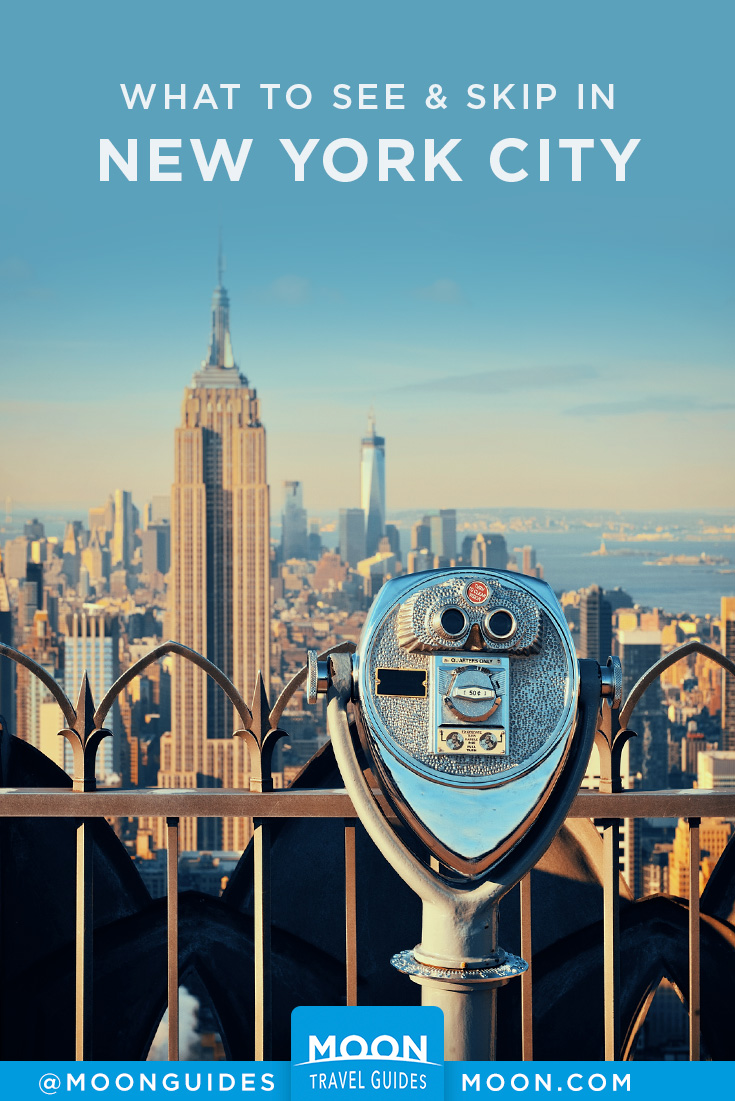 new york city sights pinterest graphic