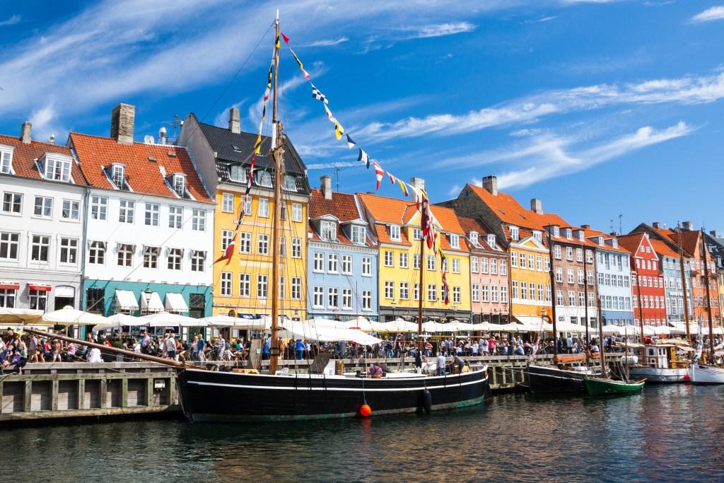 Copenhagen's popular Nyhavn district.