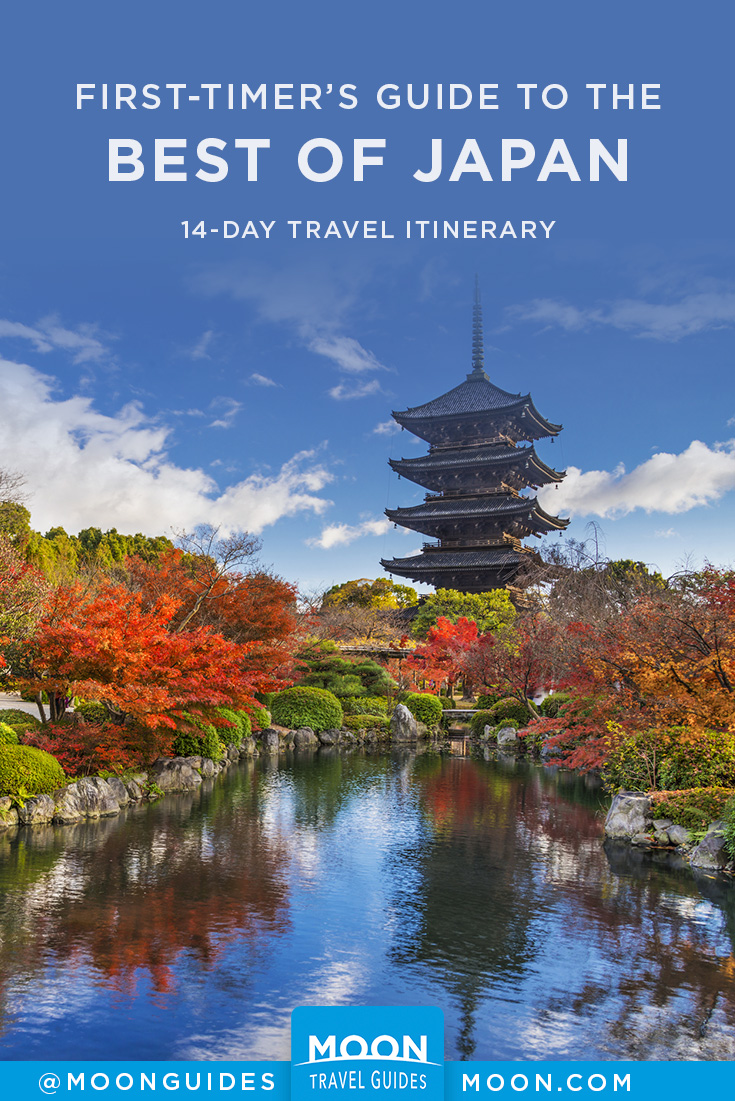 best of japan itinerary pinterest graphic