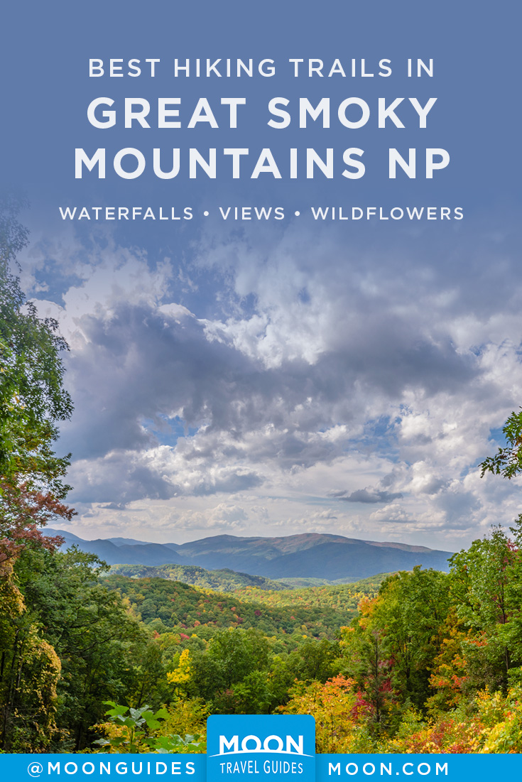 smoky mountains hiking pinterest graphic