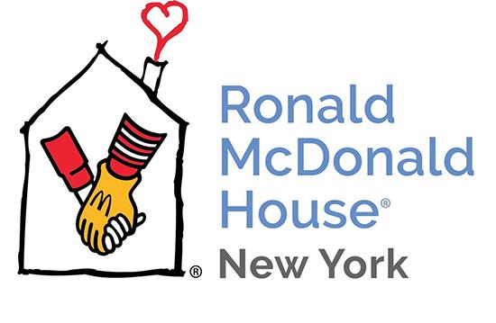 Logo for Ronald McDonald House New York