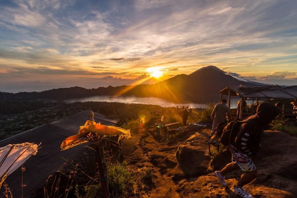 Sunrise at Gunung Batur