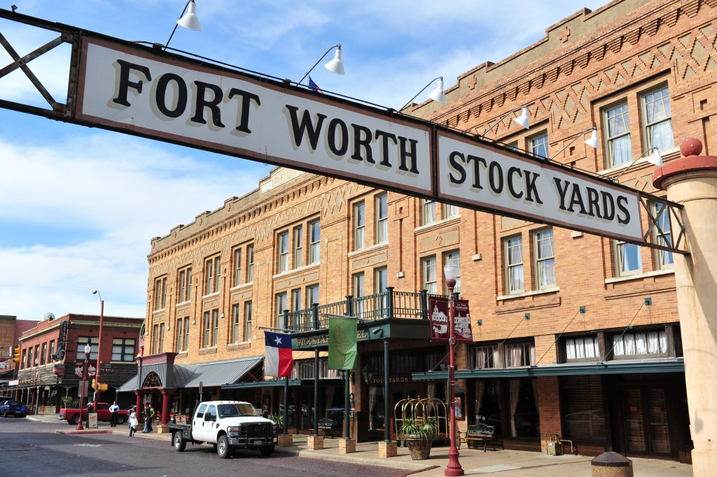 The Fort Worth Stockyards
