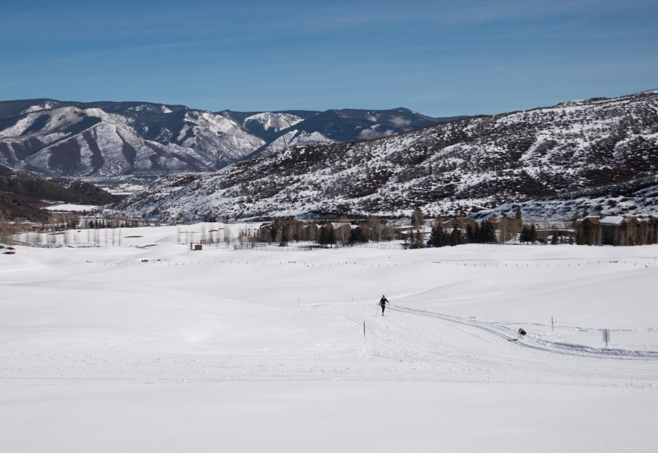Cross country skiing in Utah