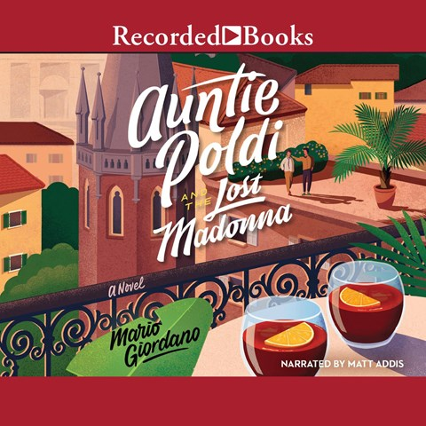 AUNTIE POLDI AND THE LOST MADONNA Audiobook