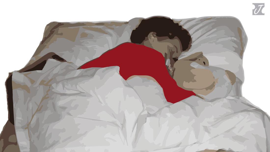 niño niña dormir solo