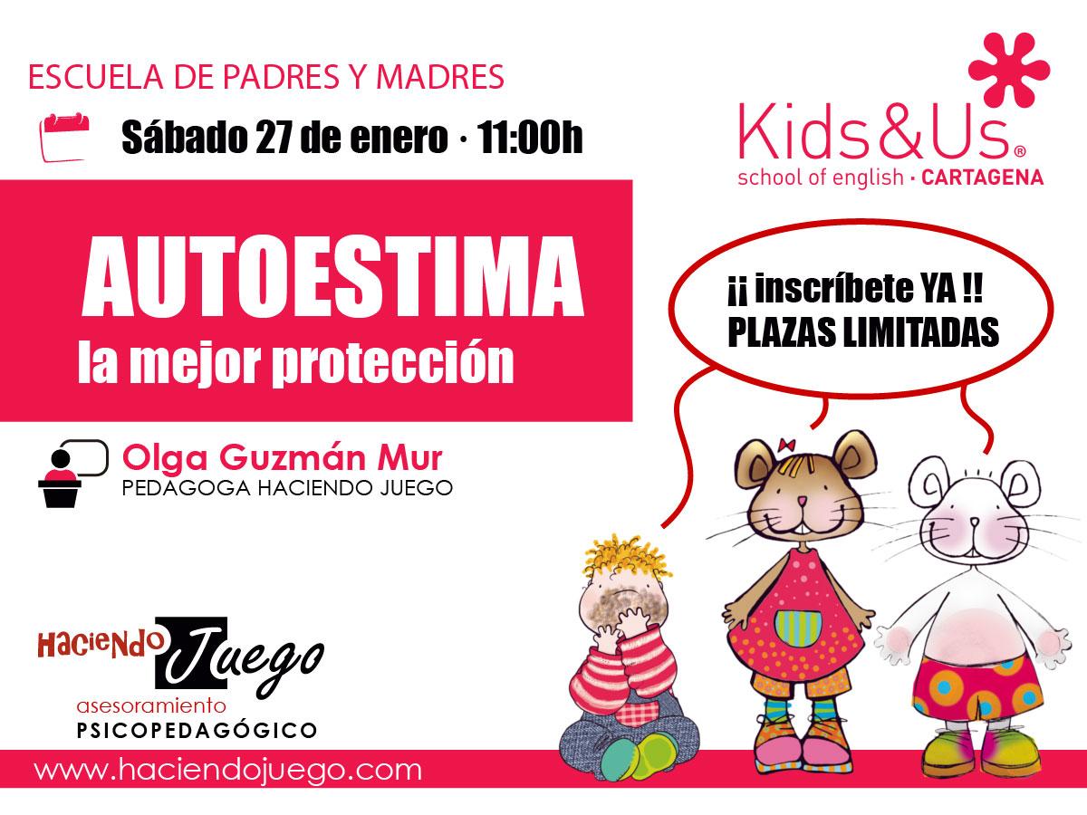 AUTOESTIMA . Charla escuela de padres y madres . Cartagena