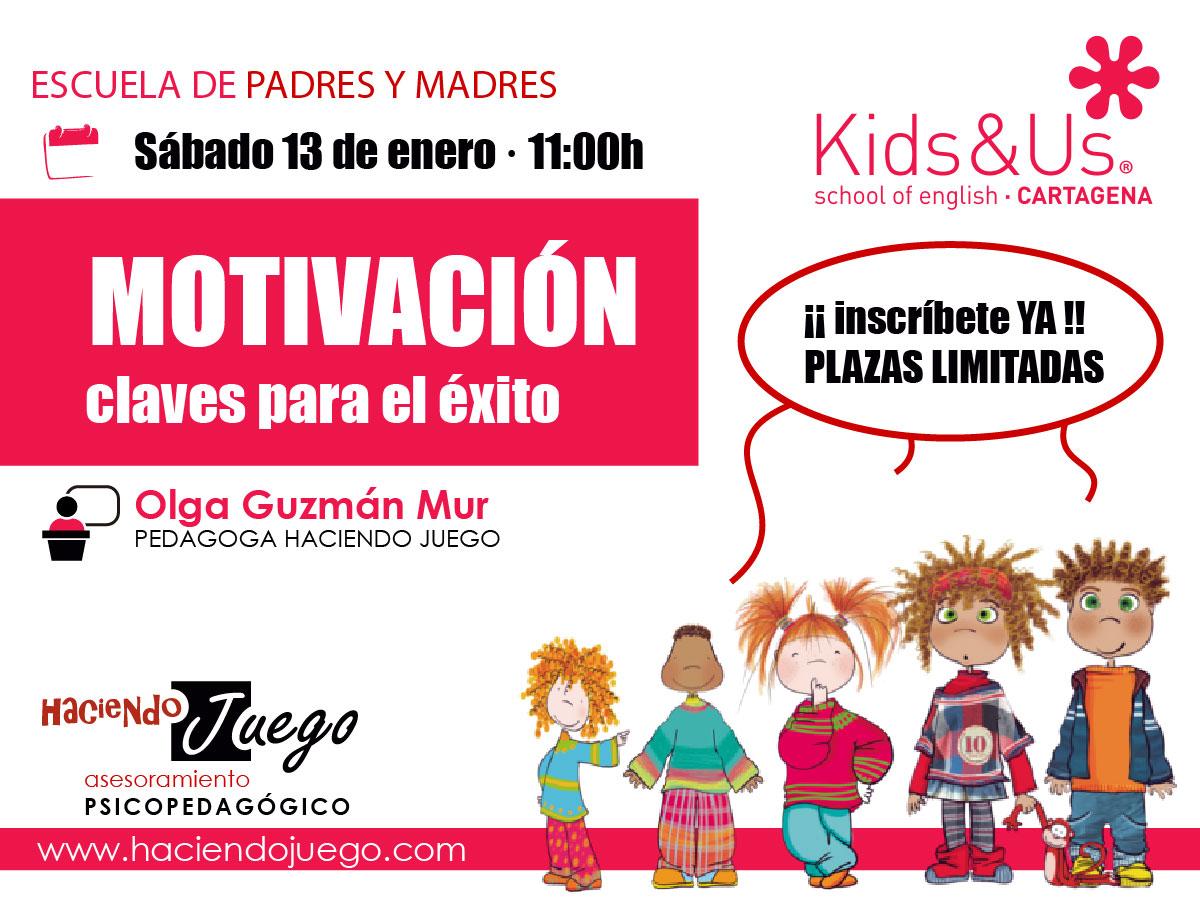 escuela de padres kids&Us . motivación