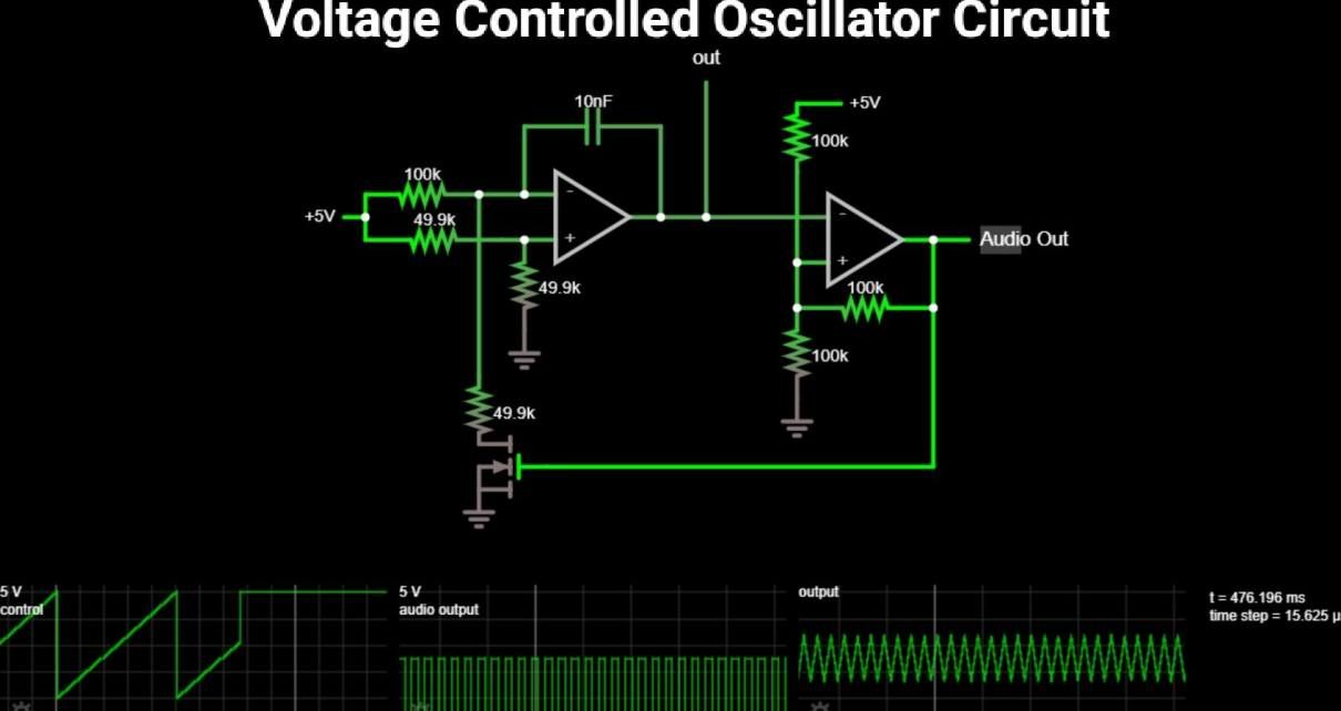 Voltage controlled oscillator circuit