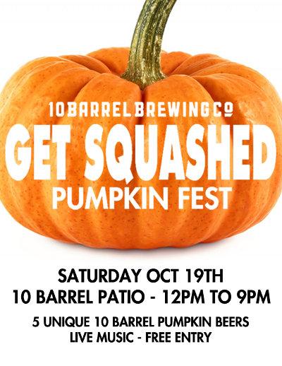 10 Barrel Get Squashed Pumpkin Fest