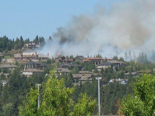 Awbrey Butte fire