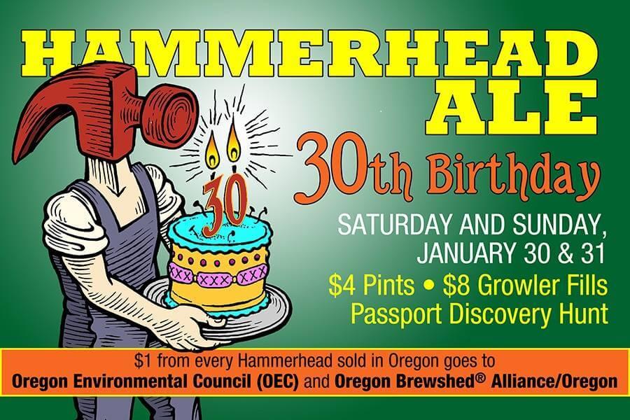McMenamins Hammerhead 30th birthday
