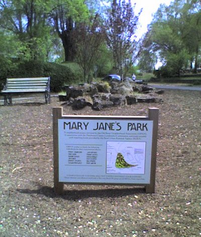 Mary Jane's Park signage and development