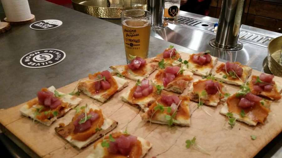 Pairing for a Purpose appetizer