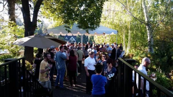 Pine Tavern beer garden