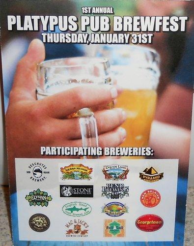 Platypus Pub Brewfest