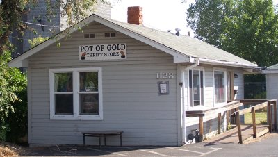 Pot of Gold Thrift Store, 1128 NW Hill, Bend, OR