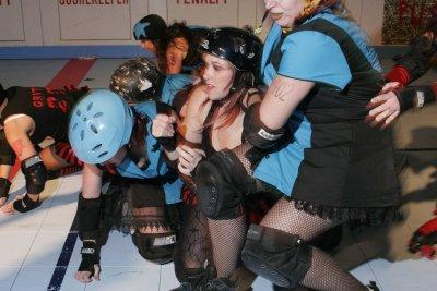 Renegade Rollergirls action!