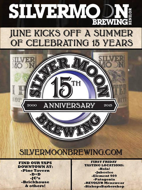 Silver Moon Brewing 15th anniversary
