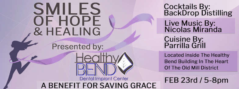 Smiles of Hope & Healing - A benefit for Saving Grace