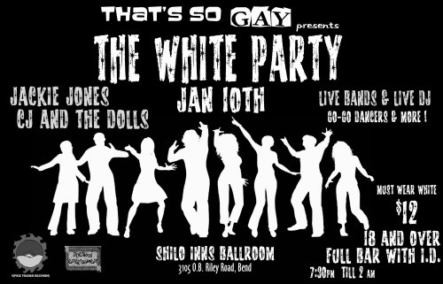 That's So Gay White Party